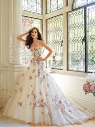 wedding dress not white pretty in pink beautiful pink wedding dresses