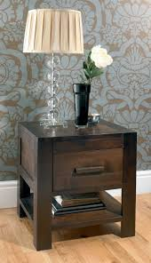 Bedside Tables Buy Bentley Designs Lyon Walnut Bedside Table 1 Drawer