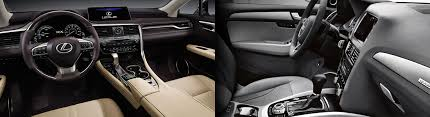lexus vs audi compare 2016 lexus rx 350 vs audi q5 ramsey nj