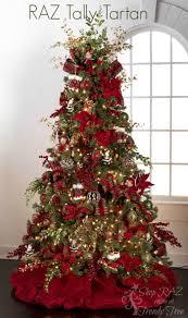 Fall Tree Decorations Tally Tartan Raz 2015 Christmas Trees Raz Christmas Decorations