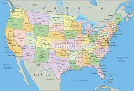 detailed map of the us travelblog map of united states manifest destiny and the pacific