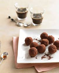 thanksgiving chocolates chocolate truffle recipes martha stewart