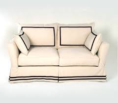 Modern Slipcovered Sofa by Houston Design Blog Material Girls Houston Interior Design