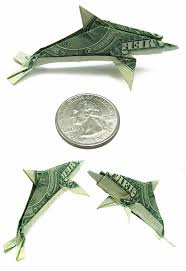 Origami Koi Fish Dollar Bill - seawayblog 10 origami of aquatic animals folded with 1 dollar bills