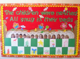 the night before christmas bulletin board u2013 teacher created tips