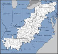 Floyd Va Map Defining Appalachia Looking At Appalachia