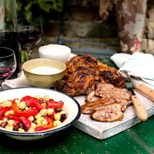 baba ganoush quote harissa and yogurt marinated leg of lamb woman and home