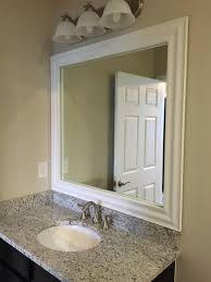 How To Make A Frame For A Bathroom Mirror by Framed Mirrors The Glass Shoppe A Division Of Builders Glass Of