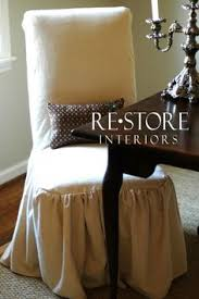 Diy Dining Room Chair Covers by Beautiful Parsons Chair Slipcovers Dining Room Luv Pinterest