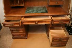 solid oak roll top desk chairs small roll top desk design all home ideas and decor small