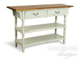 Painted Console Table Country Painted Console Table Shropshire Design