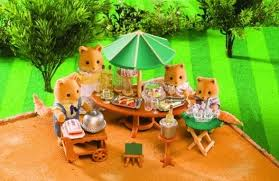 Sylvanian Families Garden - sylvanian families garden party set toy at mighty ape nz