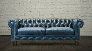 What Is Chesterfield Sofa Navy Blue Leather Chesterfield Sofa Leather Sofa
