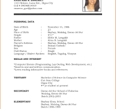 cv format for freshers doc download file bestesume format free cv template download word and pdf formats