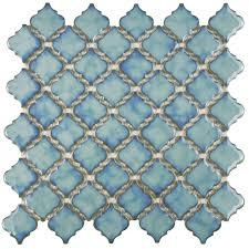 this somertile 13x13 375 inch antaeus marine porcelain mosaic