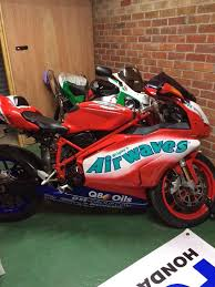 rare ducati 999 official gse airways replica in hexham