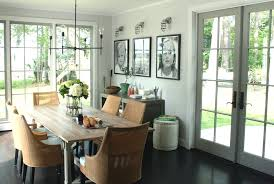WovendiningchairsDiningRoomRusticwithBarntablebeadboard - Beadboard dining room