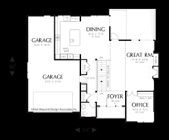 Creative Floor Plans by Mascord House Plan 2381 The Kenning