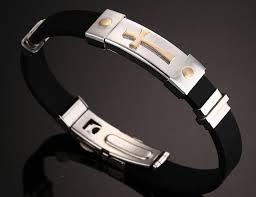 faith bracelets 2017 premium silicone and steel faith bracelet