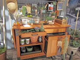 Redwood Potting Bench Beautiful Smith Hawken Potting Bench Design Can U0027t Find Where To