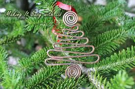 o tree pendant ornament easy wire work