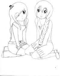 2 friends coloring pages coloring pages ideas