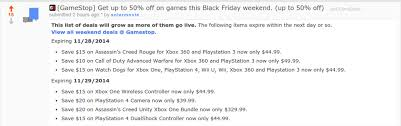 gamestop black friday weekend deals 2014 imgur