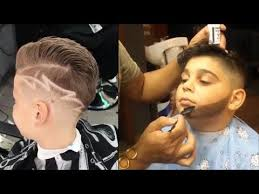 amazing kids boys haircut best barbers compilation youtube