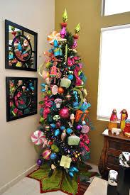 slim christmas tree with led colored lights slim artificial christmas tree with led lights pre lit slim