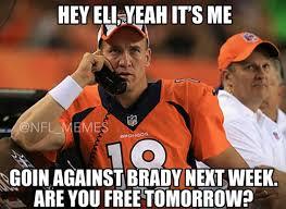 Peyton Manning Tom Brady Meme - best nfl memes from postseason 4nflpro