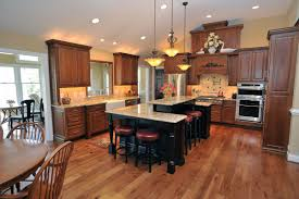 kitchen minimum distance between kitchen island and counter uk