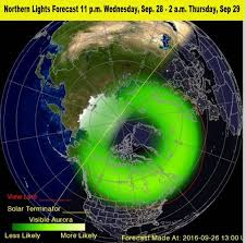 Northern Lights Forecast Michigan Solar Storm Heading Toward Earth May Create Moderate Magnetic