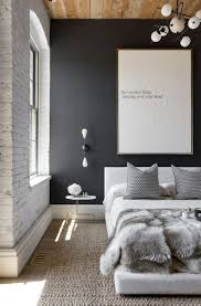 chambre noir et blanche relooking déco chambre en noir et blanc côté maison