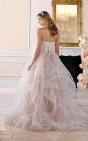 plus size wedding dresses pink lace plus size wedding dress