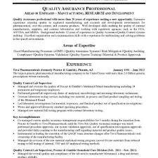 quality assurance resume exles resume sle for qa qc fresh software quality assurance resume