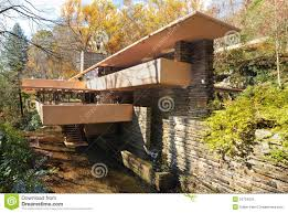 fallingwater editorial stock image image 23734229