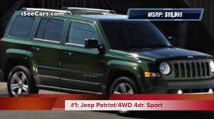suv jeep 2013 cheapest manual transmission suvs 2013 models youtube