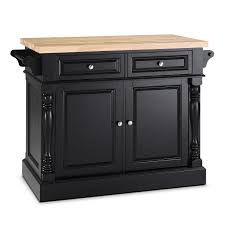 kitchen islands black warren kitchen island black value city furniture
