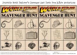 bnute productions free printable world explorer indiana jones