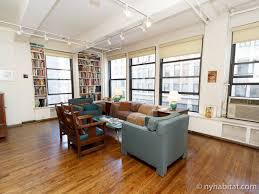Livingroom Nyc Nyc Loft Living New York Alcove Studio Loft Apartment Living Room
