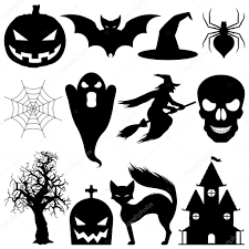 vector halloween elements u2014 stock vector timurock 1036643