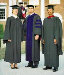 college graduation gown faculty regalia attire for doctors masters and bachelors