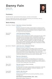 Resume Sample For Teaching by Facilitator Resume Samples Visualcv Resume Samples Database