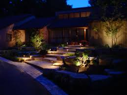 design house exterior lighting backyard landscaping lighting landscape lighting low voltage