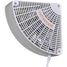 entreeair 5 in single speed door frame fan in white rr100 the