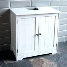 bathroom sink storage ideas pedestal cabinets for small spaces