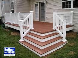 Corner Deck Stairs Design Would Like Corner Stairs When We Redo Our Porch Garden Ideas