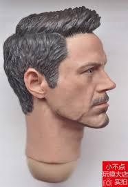 Tony Stark Aliexpress Com Buy Supreme 1 6 Scale Civil War Tony Stark Head
