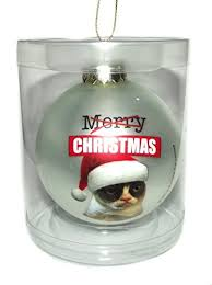 3 grumpy cat ornament merry check this awesome