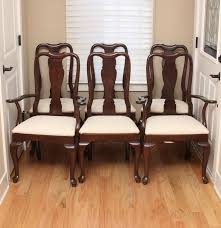 dining chair awesome brown rectangle modern wooden ethan allen
